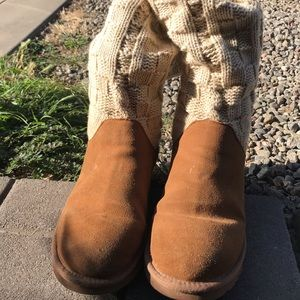 Tan UGGS boots
